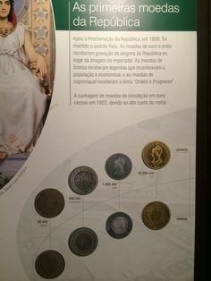 Primeiras moedas da República - Museu de Valores BCB