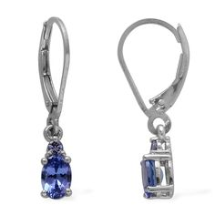 Tanzanite Earrings @liquidationchannel #tanzanite #jewelry