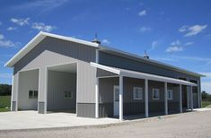 Manhattan, IL - Ag Storage/Shop Building - Lester Buildings 1p0mg Project: 270675