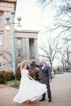 It's so important to have fun during your engagement session! | Charlotte wedding, Charlotte wedding vendors, NC wedding, NC wedding vendors, engagement, engagement session | Photography @johannadye