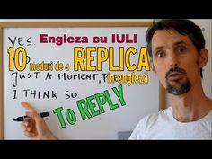 Sa invatam engleza - 10 REPLICI UTILE - Let's learn English (cu traducere)