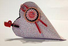 Schönes aus Papier Stampin Up Verpackung Valentinstag Herz