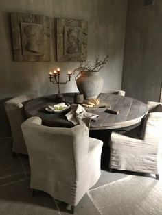French Interior, Nordic Interior, Interior Design, Industrial Home Design, Zen Design, Living Styles, Dining Table Chairs, Contemporary Interior, Home And Living