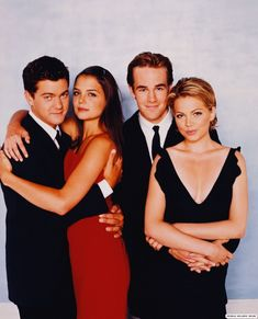 I had some serious love for this show.  I'm not saying I'm proud of it - but there it is.  Dawson's Creek = my guilty pleasure.