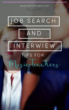 Job searching can be a daunting task. After going through the process recently, here are a few things I've learned. Parent Newsletter, Mentor Program, Teaching Philosophy, Band Director, Elementary Music, Music Classroom, Interview Questions, Music Education, Job Search