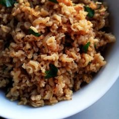 Delicious Yet Nutritious: Brown Rice Pilaf