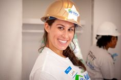 Lauren Hart at Broadway Builds in NYC #HabitatforHumanity #Broadway Learn more about Habitat NYC at Habitatnyc.org