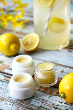 DIY Lemonade Lip Balm