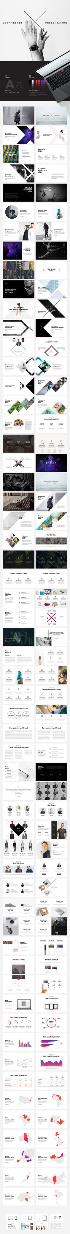 X Powerpoint Template by Dublin_Design on @creativemarket