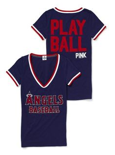 Victorias Secret/Angels Baseball- best combo! want it all!