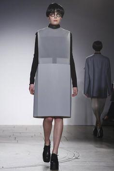 London College of Fashion RTW- Diani Diaz - Fall 2015 at London Fashion Week.