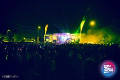 Parco Forlanini - Main stage with Green Lights