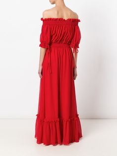 Alexander McQueen off-the-shoulder gown