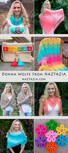 Naztazia - Free Patterns and Tutorial Videos by Donna Wolfe