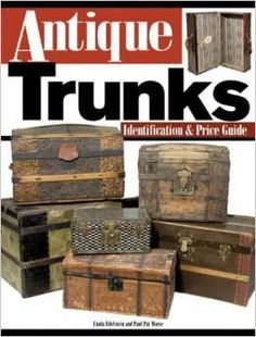 For when I ever get motivated enough to restore my vintage steamer trunk. Vintage Chest, Vintage Trunks, Antique Trunks, Trunk Redo, Trunk Makeover, Old Trunks, Trunks And Chests, Wooden Trunks, Vintage Steamer Trunk