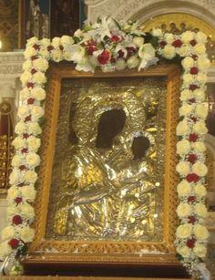 Altar, Church Icon, Church Flowers, Holy Spirit, Funeral, White Flowers, Icon Design, Floral Arrangements, Mosaic