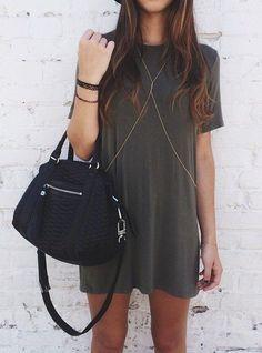 dress + chain