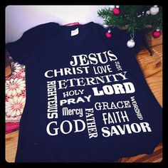 Faith Tee V-neck, misses fit small. NWOT Tops Tees - Short Sleeve
