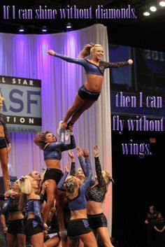 Cheering for your safety, so you can cheer for life. Cheer Tryouts, Cheer Coaches, Cheer Stunts, Cheer Dance, Cheerleading Outfits, Volleyball Pictures, Cheer Pictures, Softball Pics, Great White Sharks Cheer