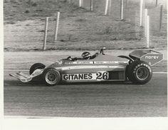 JACQUES LAFFITE LIGIER GITANES JS7 MATRA #26 F1 1977 ORIGINAL PERIOD PHOTOGRAPH