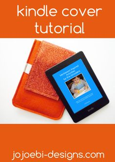 Easy Kindle Case Tutorial