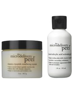 Skin care (peel): Philosophy The Microdelivery Peel gives the most radiant results this side of the dermatologist's office