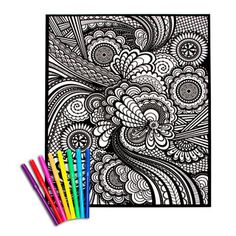 54 Best velvet coloring images | Poster colour, Color posters, Adult ...
