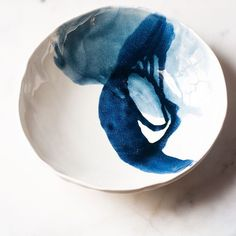 This bowl from last week's restock is or at least the navy glaze looks like that to me! Do you see it?