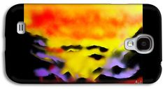 Land Of Heavens Galaxy Case Printed with Fine Art spray painting image Land Of Heavens by Nandor Molnar (When you visit the Shop, change the orientation, background color and image size as you wish)