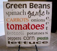I'd love to have this sign near my vegetable garden.