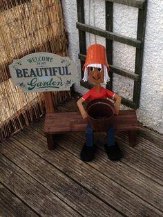 Flowerpot Lady custom made!