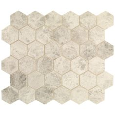 Hexagon Mosaic, Honed | Fired Earth