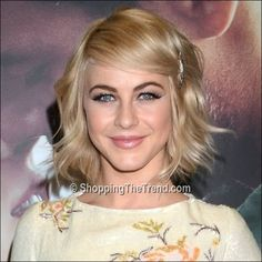 Julianne Hough hair & makeup - 'Safe Haven' Dublin Premiere...I love this look!!!