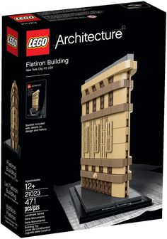 LEGO 21023 FLATRION BUILDING ARCHITECTURE Hard To Find
