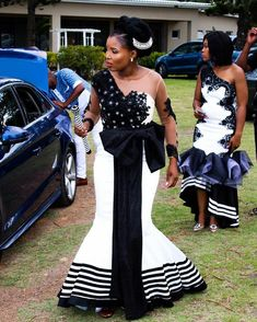 Latest African Fashion Dresses, African Dresses For Women, African Wear, Bridal Pics, Bridal Pictures, Traditional Wedding Dresses, Traditional Outfits, White Plus Size Dresses, Xhosa Attire