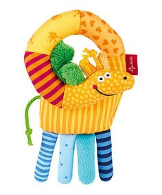 Take a look at this Giraffe Plush Grasp Toy on zulily today!