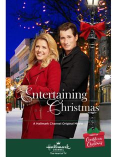 """Its a Wonderful Movie - Your Guide to Family and Christmas Movies on TV: Entertaining Christmas - a Hallmark Channel """"Countdown to Christmas"""" Movie starring Jodie Sweetin & Brendan Fehr! Family Christmas Movies, Christmas Movie Night, Hallmark Christmas Movies, Hallmark Movies, Holiday Movies, Christmas Wishes, Hallmark Holidays, Family Movies, Christmas Countdown"""