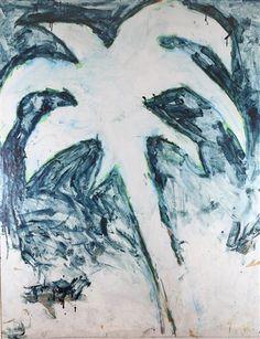 Mario Schifano (Italian, 1934–1998) Title: Oasi, 1970 Medium: Paintings, Enamel on canvas Size: 180 x 140 cm. (70.9 x 55.1 in.)