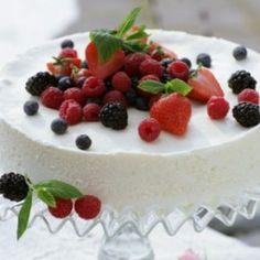 Cheesecaketårta - Recept från Mitt kök - Mitt Kök