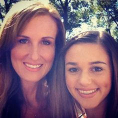 Korie Robertson and her daughter Sadie Robertson - Duck Dynasty