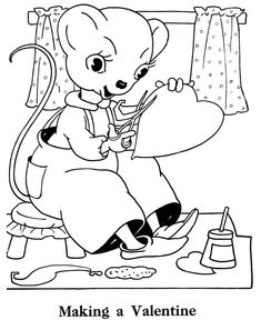 Valentine's Day Kids Coloring Pages, Valentine Mouse Coloring Page Name Coloring Pages, Earth Day Coloring Pages, Barbie Coloring Pages, Coloring Pages For Girls, Free Printable Coloring Pages, Coloring For Kids, Free Coloring, Coloring Sheets, Valentines Day Coloring Page