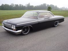 Rods and Resto's Bubble Top Bel Air Rolls Forgeline Wheels - Rod Authority Chevrolet Impala, American Muscle Cars, Bel Air, Hot Cars, Custom Cars, Cars And Motorcycles, Vintage Cars, Dream Cars, Classic Cars