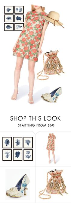 """dress"" by masayuki4499 ❤ liked on Polyvore featuring Tahari, Irregular Choice and Miss Selfridge"