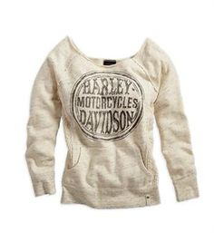 Harley-Davidson® Women's Black Label Lace Accents Active Wear Shirt 96207-14VW