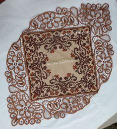 Cross Stitch Borders, Cross Stitch Patterns, Palestinian Embroidery, Point Lace, Filet Crochet, Elsa, Mandala, Quilts, Blanket