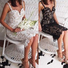 Sexy Sling Lace Wedding Evening Dress – Gracybee Evening Dresses For Weddings, Lace Evening Dresses, Evening Gowns, Lace Dress, Wedding Dresses, Engagement Dresses, Floral Print Maxi Dress, Collar Styles, Lace Wedding