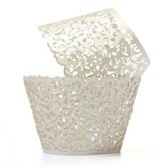 """$1.25/12 pieces ---- Material: Paper The base Dia.:appr. 5.3cm/2.08"""" The top Dia.:appr. 8cm/3.14"""" Package included: 1 pack X 12 pcs Cupcake Wrapper Can not be placed in the oven Colour: Ivory White All the color show fashion and nobility Perfect for putting cakes, cupcakes ,cookie etc. 