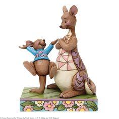 4045253 Look Mama. I bounced (Kanga & Roo)- Kanga makes her Disney Traditions début with her little boy Roo who can't help but leap for joy #enesco #jimshore #kanga