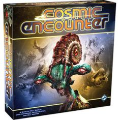 Cosmic Encounter - I'm going to sound like a fanboy here, but I have to agree with a lot of people... this is one of the best games ever. I LOVE poker and how you can play the people vs playing your cards... this game lends to that. At some point, you're not really playing the game as much as you are playing with people and personalities. My #1 game so far!