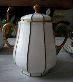 Service à café Porcelaine Limoges Raynaud Art Déco- photo numero : 1